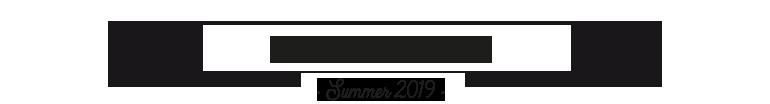 Lunch Menu - Summer 2019