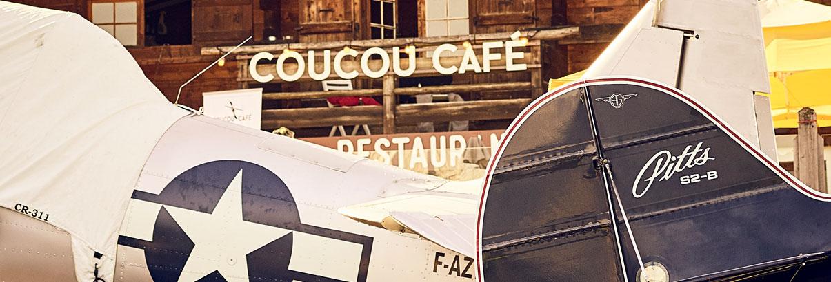 Coucou Café Restaurant - Altiport Megève